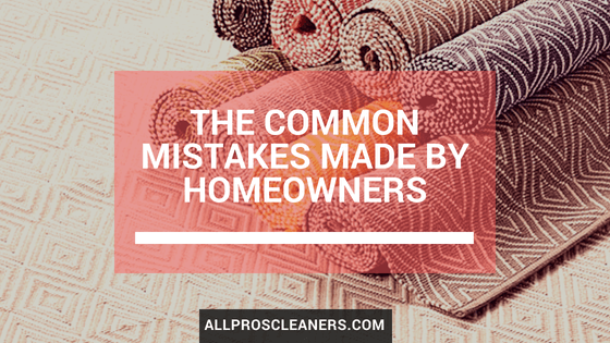 Common Mistakes Made by Homeowners