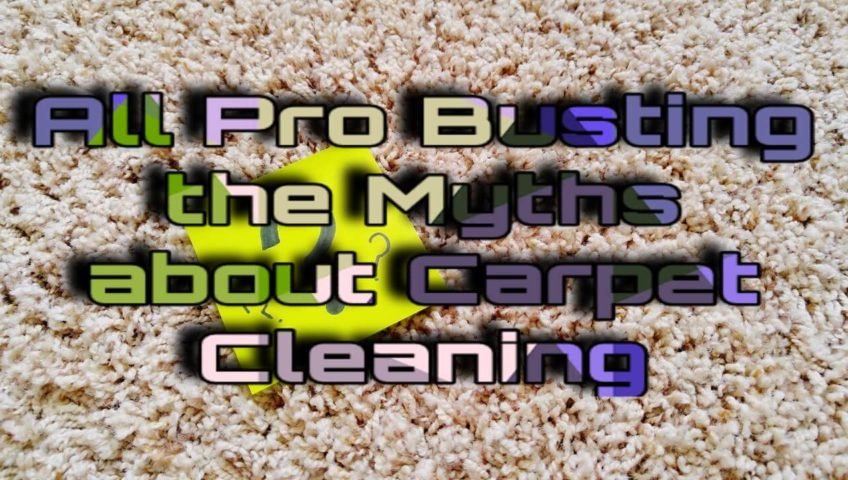 Myths about Carpet Cleaning