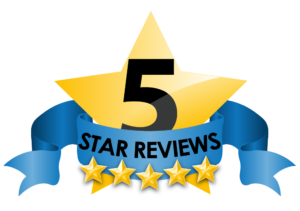 five star reviews logo