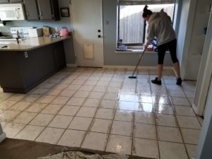 Dirt cleaning