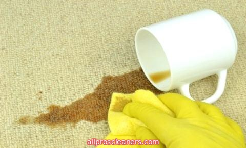 tips to remove coffee stains