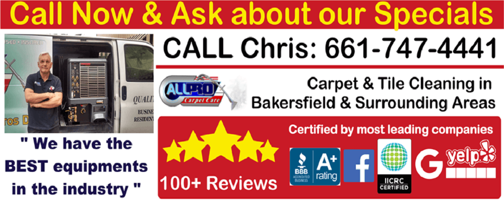 Carpet Cleaning Specials Bakersfield